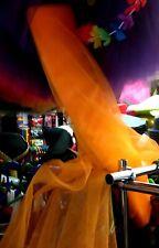 Nero O Arancione Tessuto Netto Tutu Craft Halloween Vestire Adulti/Da Cucire Per Bambini