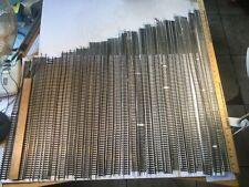 "HO ATLAS FLEX TRACK 28 Piece LOT Brass & Nickel Silver Code 100 (?) 18"" - 30"" NR"