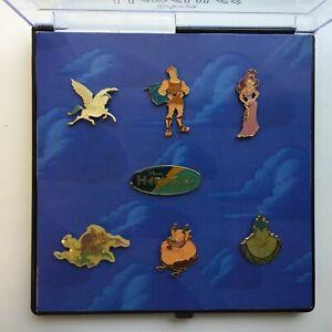 DS - Hercules Summer 1997 Boxed Set 7 Pins Disney Pin 7978