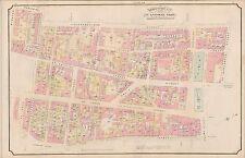 1890 MONTREAL, CANADA, ST. ANTOINE WARD, VICTORIA SQUARE, COPY PLAT ATLAS MAP