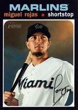 2020 Topps Heritage #144 Miguel Rojas - Miami Marlins
