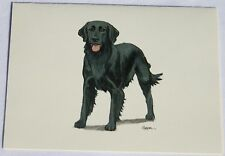 Flat Coated Retriever Dog Zeppa Studios Fur Children Note Cards Set of 8