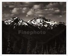 1949 Original ANSEL ADAMS Olympic National Park Snow Landscape Photo Art 12X16