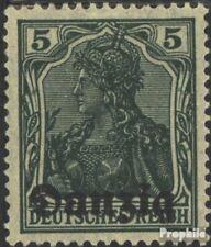 Danzig Mi.-Aantal.: 1 met Fold 1920 Germania-Afdrukken