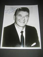 RONALD REAGAN SIGNED AUTOGRAPHED 8X10 PHOTO (431 P3)