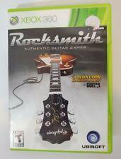 Rocksmith (Microsoft Xbox 360, 2011) No Cable - Includes Manual