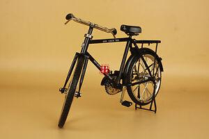 1:8 Diecast metal bike bicycle model black color