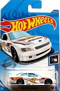 2020 Hot Wheels Mainline #209 - 2010 Chevy Impala NASCAR (White) GHF86