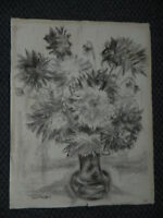 Dibujo Original a Lápiz Naturaleza Muerta Firmada Luis Goiffon