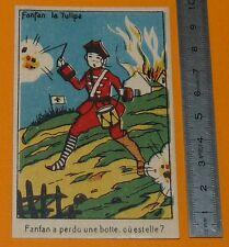 Chromo 1905-1925 bon-point school song rhyme game look...