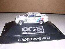 "Herpa #3533 B.M.W. M3 Linder Team #16 Racing Coupe ""White"" H.O.Gauge"