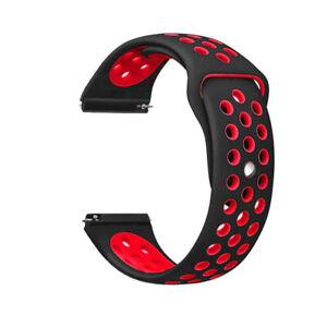 22mm Silicone Watch Band Strap For Samsung Galaxy Watch 3 45mm R840 46MM Gear S3