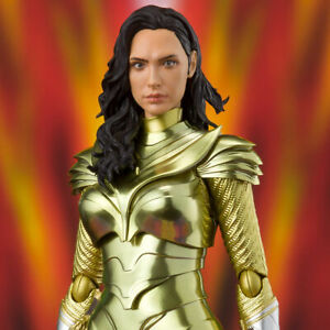 Bandai S.H.Figuarts Wonder Woman Golden Armor (WW84) Wonder Woman 1984 in-stock
