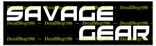 Savage Gear II - Outdoors Sports / Fishing - Vinyl Die-Cut Peel N' Stick Decals