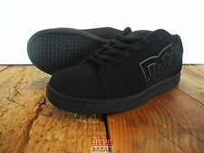DC SHOES SERIAL SNEAKER SCHUHE NEU BLACK-BLACK GR: US 8 EUR 40,5 DC SHOE CO