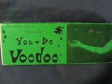 Bruce Spangler You-Do Voodoo Kit Needle Thru The Arm Magic Trick Autographed