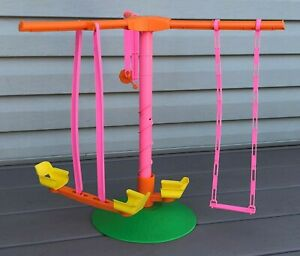 Vintage Skipper 1971 Swing-A-Rounder Gym - Excellent and Complete!