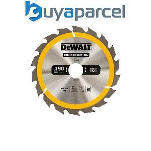DeWALT DT1943 Construction Cordless Circular Saw Blade 190 x 30mm x 18T