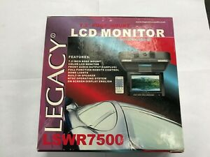 Legacy 7.2 roof mount LCD monitor