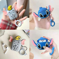 Cute 3D Cartoon Silicone Airpod Protective Case Cover Skin For Apple Airpods