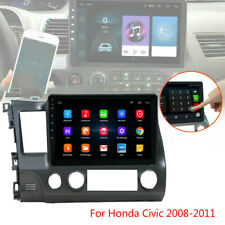 """10.1"""" Android 9.1 Car Radio Stereo MP5 Player GPS Wifi For Honda Civic 2008-2011"""