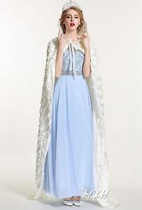 "Rose Silken Cloth Satin Cloak Wedding Long Cape 71"" Wicca Robe Cosplay Costumes"