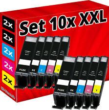 10x XL TINTE PATRONE für CANON PIXMA MG5700 MG5750 MG5751 MG5752 MG-5753 Set