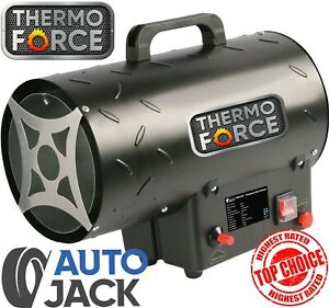 Autojack 15KW Industrial Propane Gas Heater 51,000 BTU for Garage or Workshop
