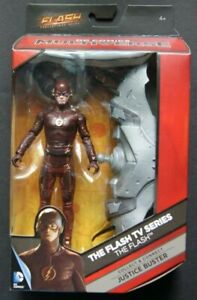 DC UNIVERSE THE FLASH TV SERIES action figure Extremely rare white logo variant!