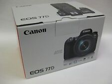 Canon 77D camera body only kit in stock Canon USA new model extra LP-E17 battery