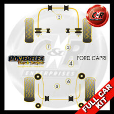 Ford Capri Powerflex Black Complete Bush Kit