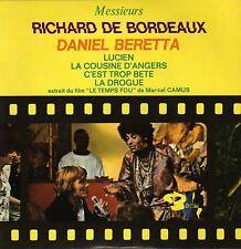 RICHARD DE BORDEAUX & DANIEL BERETTA LE TEMPS FOU FRENCH ORIG OST EP PSYCH