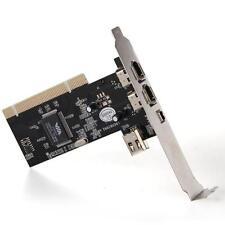 SCHEDA PCI FIREWIRE IEEE 1394 4 PORTE 4/6 POLI PC CARD + CD NUOVA
