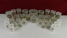 Gay Fad Barware Dancing Girls Frosted Ice Bucket & Glass Set  - Lot 135