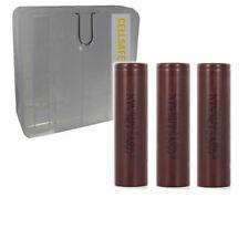 3er Premium Set PRO LG HG218650Akku 30A 3000mAh komp wismec Reauleaux