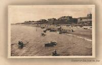 1913 VINTAGE CLACTON-on-SEA from the PIER POSTCARD message in Pitman SHORTHAND!