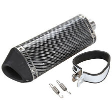 Motorcycle Exhaust Muffler With DB Killer Slip on Dirt Pit Bike Scooter ATV 38mm