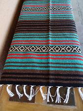 Peyote Serape Blanket ONWPT-10 Southwest Southwestern Mexican Afghan