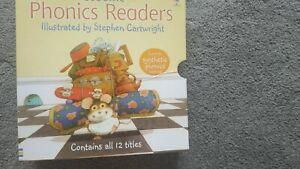 Usborne phonics readers 12 book set