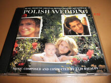 POLISH WEDDING soundtrack CD luis BACALOV lena olin claire danes gabriel byrne