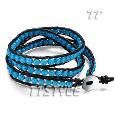 Turquoise Leather Fashion Jewellery