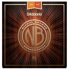 D'Addario Nickel Bronze Corde per Chitarra Acustica Extra Light 10-47 NB1047