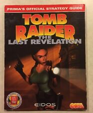 Tomb Raider The Last Revelation (1999) Official Strategy Guide PC & Playstation