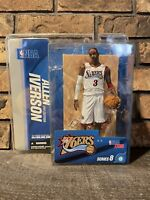 Allen Iverson 3rd Edition White Jersey 76ers Mcfarlane Series 8