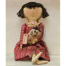 New Country Primitive Collectible Grace Doll