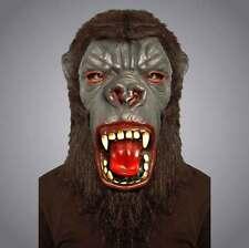 Adults Gorilla Latex Mask With Yellowing Teeth Unisex  Halloween Masks Dress