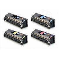 HP 2550 2820 2830 2840 Four Color Toner Refill Kit with Hole-Making Tool /& Chips