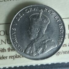 5 cents 1924 Canada ICCS MS-63 Nickel coin c ¢ King George V half-dime