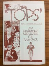 Vintage November 1941 Tops Magazine Of Magic Magician Photos Tricks