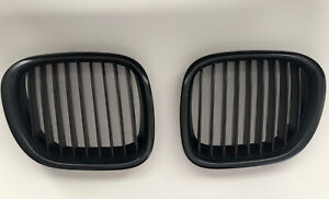 Matte Black Fit BMW Z3 96-02 Front Grilles